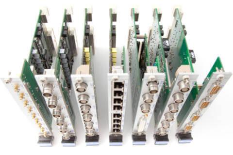 Modularer Messgeräteaufbau für hohe Flexibilität