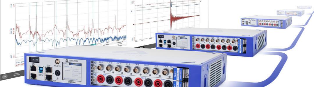 Industrielle Messgeräte und Software