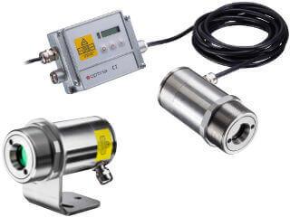Laser-Pyrometer der CS-Serie und CT-Serie