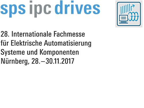 messwert auf der SPS IPC drives 2017 in Nürnberg
